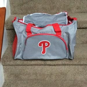Phillies duffel bag brand new. Never used